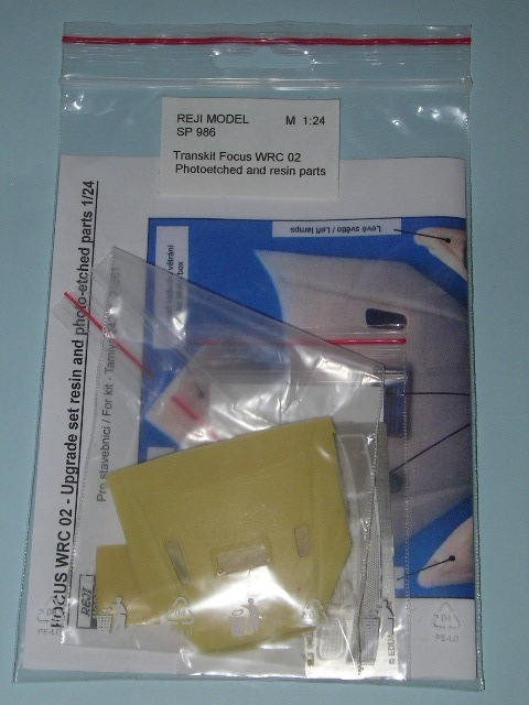 1/24 Reji Model - Transkit Ford Focus WRC 02 - upgrade set / resin and P/E parts