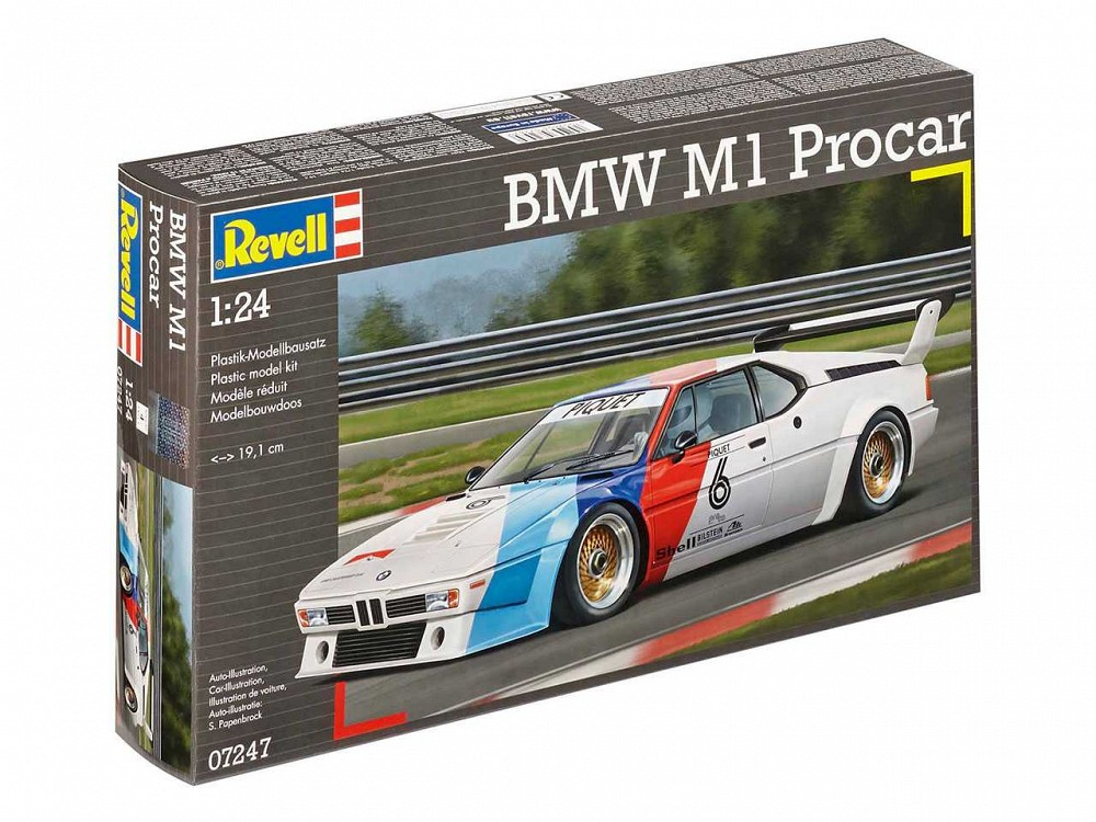 Plastic kit 1/24 - BMW M1 Procar