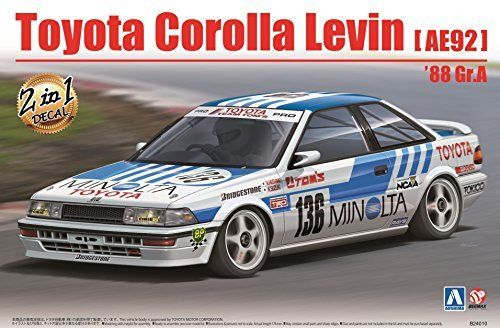 Plastic kit 1/24 - Toyota Corolla Levin AE92 - Gr.A 1988
