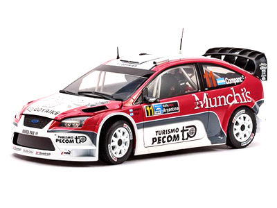 1/18 FORD FOCUS WRC - Rally Argentina 2007/ J.P.Companc