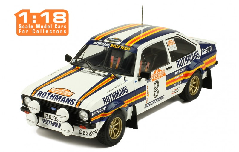 1/18  Ford Escort MKII RS 1800 - Rally San Remo 1980/ H. MIKKOLA-A. HERTZ