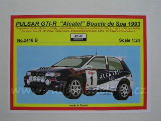 "Resin kit 1/24 - Nissan Pulsar GTI-R ""Alcatel"", Boucle de Spa 1993 - Reji model"