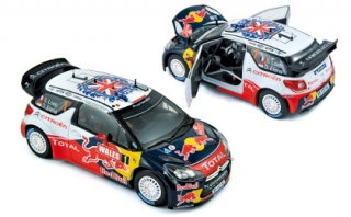 1/18 Citroen DS3 WRC - World Champion - Rallye GB 2011/ S. Loeb