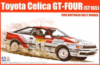 Plastic kit 1/24 - Toyota Celica GT-Four ST165 - winner Rally Australia 1989