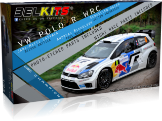 Plastic kit 1/24 - VW Polo R WRC