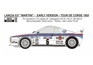 Transkit 1/24 Reji model - Lancia 037 - early version / Tour de Corse 1982