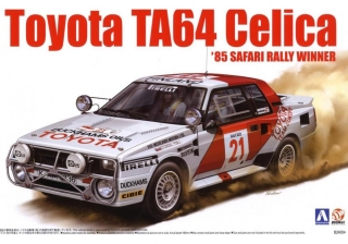 Plastic kit 1/24 - Toyota Celica TA64 - winner Safari Rally  1985