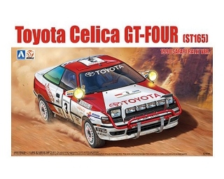 Plastic kit 1/24 - Toyota Celica GT-Four ST165 - Safari Rally 1990