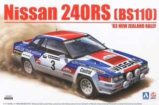 Plastic kit 1/24 - Nissan 240RS - 1993 New Zealand Rally