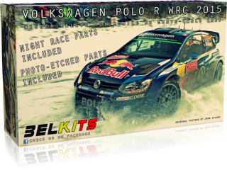 Plastic kit 1/24 - VW Polo R WRC 2015