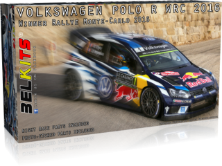 Plastic kit 1/24 - VW Polo R WRC 2016