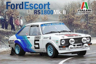 Plastic kit 1/24 - Ford Escort RS1800 Mk.II