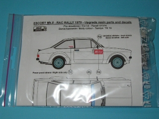 Transkit 1/24 Reji model - Ford Escort Mk.II - Resin parts + decal / upgrade