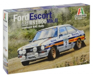 Plastic kit 1/24 - Ford Escort RS1800 Mk.II - RAC Rally