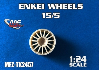 "Transkit 1/24 MF Zone - ENKEI 18"" wheels 15/5 (4 pieces)"