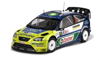 1/18 FORD FOCUS RS WRC- #4 M.Hirvonen / J.Lehtinen 2007 Rally Norway