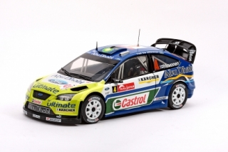 1/18 FORD FOCUS RS WRC - M.Hirvonen / J.Lehtinen 2007 Rally Japan