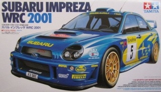Plastic kit 1/24 - Subaru Impreza WRC 2001 -Rally Monte Carlo 2001/ R. Burns