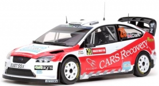 1/18 FORD FOCUS WRC - Wales Rally GB 2008/ B. Clark