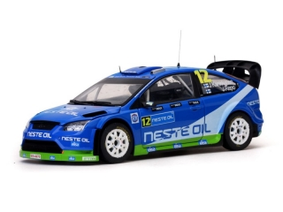 1/18 FORD FOCUS RS WRC - J. Kankkunen/ Rally Finland 2010