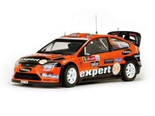 1/18 FORD FOCUS RS WRC - H. Solberg/ Rally Mexico 2010