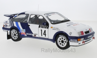 1/18 Ford Sierra RS Cosworth - 1000 Lakes Rallye 1988/ C.Sainz