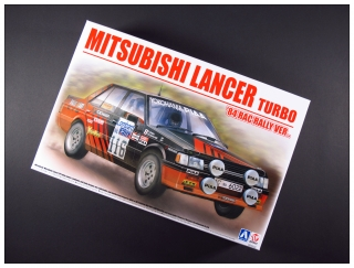 Plastic kit 1/24 - Mitsubishi Lancer turbo - RAC Rally 1984