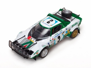 1/18 Lancia Stratos HF - Safari Rally 1975/ S. Munari