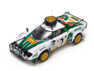 1/18 Lancia Stratos HF - Safari Rally 1977/ S. Munari