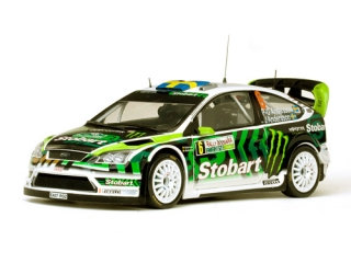 1/18 FORD FOCUS RS WRC - P.G.Andresson/ Rally Bulgaria 2010