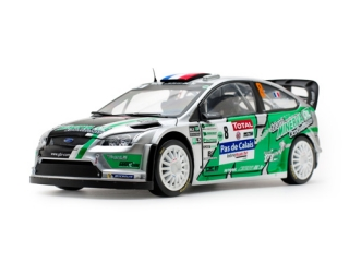 1/18 FORD FOCUS RS WRC - Jean-Charles Beaubelique/ Rally Turecko 2012