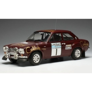 1/18  Ford Escort MK1 RS 1600, No.10 - Winner RAC Rally 1974/ T. Makinen