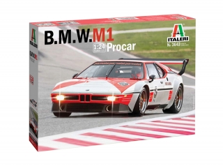 Plastic kit 1/24 - BMW M1