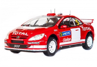 1/18 Peugeot 307 WRC - Rally Finland 2004/ Gronholm