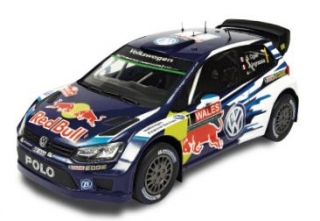 1/18 VOLKSWAGEN POLO R WRC - Wales Rally 2015/ S. Ogier